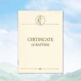United Methodist Certificates